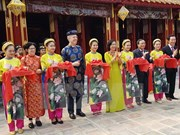 Ancient temple in Hue receives facelift