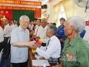 Party chief pays working visit to Phu Yen