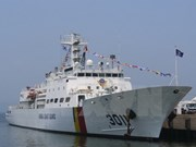 Korean training vessel docks in Da Nang, starts Vietnam visit
