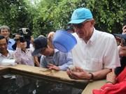 UN Deputy Secretary General inspects Ben Tre's drought losses
