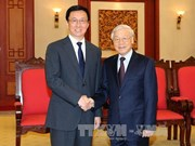 Party leader calls for closer HCM City-Shanghai cooperation