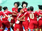 Vietnam in Asian Women's Football Champs 2017