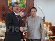 Party Inspection Commission head welcomed in Laos