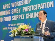 APEC workshop promotes SMEs participation in global food supply chains
