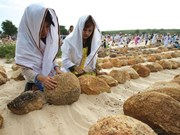 Islamic Cham people in Ninh Thuan celebrate New Year