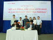 Lotte Mart to buy more products from Khanh Hoa-based producers