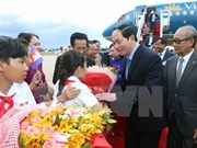 President begins State visit to Cambodia