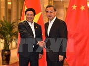 Deputy PM Pham Binh Minh meets Chinese Foreign Minister
