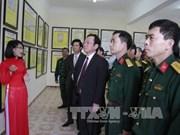 Truong Sa, Hoang Sa spotlighted in Lam Dong exhibition