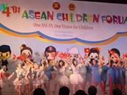 Fourth ASEAN Children Forum closes in Hanoi