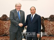Vietnam fosters multilateral ties with Australia