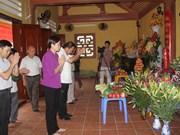 Ha Giang inaugurates memorial house for Vi Xuyen martyrs