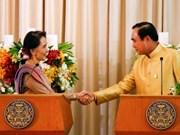 Thailand, Myanmar tighten bilateral cooperation