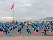 Hanoi celebrates 2nd International Yoga Day