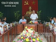 Binh Dinh should transform into marine-based economic hub: President