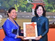 Hanoi, Vientiane women look to forge business partnerships