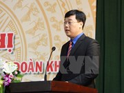 Lao Vice President welcomes Vietnamese youth delegation