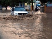 Torrential rains claim two lives in Thai Nguyen