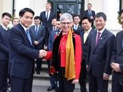 Hanoi leader visits Australia's Victoria State to foster ties