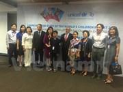 UNICEF vows to support most disadvantaged Vietnamese children