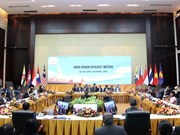 ASEAN senior officials gather in Vientiane