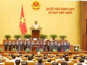 Leading positions of 14th National Assembly named