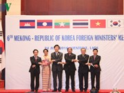 Foreign ministers scrutinize Mekong-RoK links