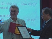 French film-maker Daniel Roussel wins Vietnam's press award