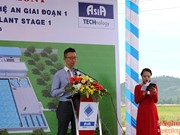 VSIP Nghe An builds wastewater treatment plant