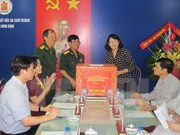 Vice President presents gifts to Ninh Binh's AO victims
