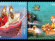 Vietnam-Thailand joint stamp issue celebrates diplomatic ties