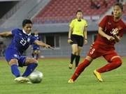 Thailand wins ASEAN women's football championship