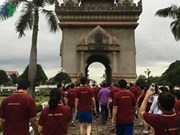 Laos holds walk to mark 49th anniversary of ASEAN