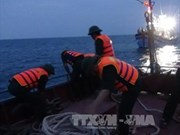 Vietnam rescues distressed Philippine at sea