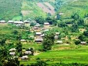 New-style rural building in Dien Bien's ethnic minority, border areas