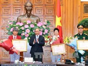 PM congratulates Vietnamese sports delegation