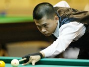 Int'l billiards event to kick off in Binh Duong