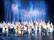 Vietnamese children perform in int'l opera in Russia