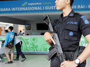 Indonesia tightens security in Bali