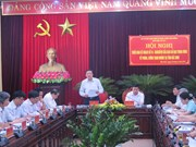 Party official inspects anti-corruption in Bac Ninh