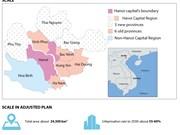 Three new provinces added to Hanoi Capital Region
