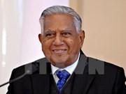Condolences over death of former Singaporean President