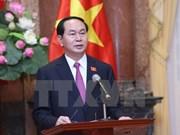 President leaves Hanoi for State visit to Brunei