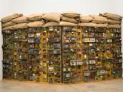 Vietnamese installation artist performs in RoK