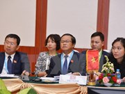 Lao leader lauds ties with Vietnamese legislature