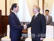President bids farewell to Canadian Ambassador