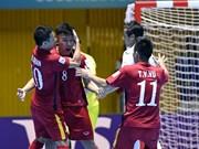 Winning start for Vietnam at futsal event