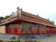 Old temple in Hue Royal Citadel rehabilitated