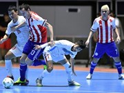 Paraguay beat Vietnam in World Cup Futsal