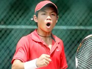 Thien beats fifth seed in Men's Futures